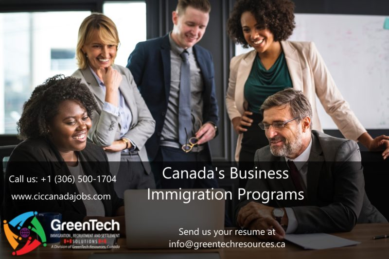 What is Canada's Business Immigration Programs