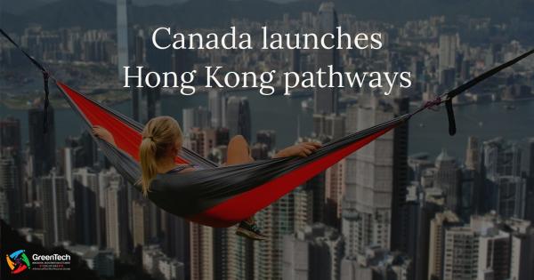 Hong Kong pathway to Canada